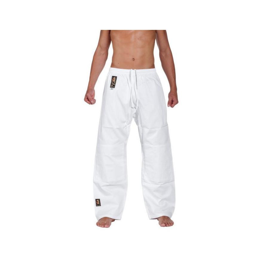 Matsuru - Judo Uniform Juvo - white with pink shoulder padding
